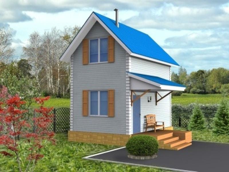 Строительство маленького домика